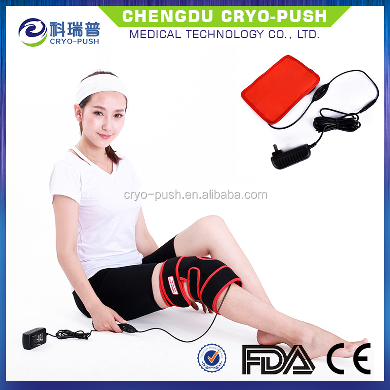 Heating neoprene sleeve pad for knee