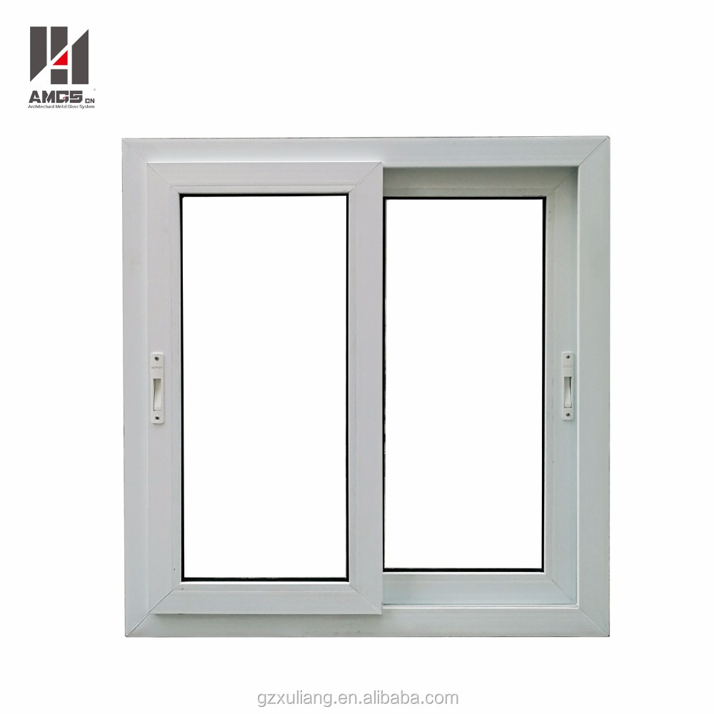 Upvc Pvc Profile Gl Sliding Windows With Good Quality And Price