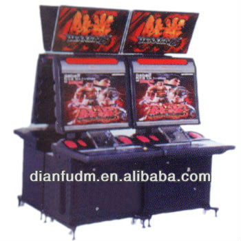 The very Popular fighting machine DF-V 003 Entertainment video game machine with 32''LCD Screen -Tekken 6(one piece)