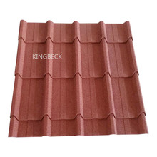 roof sheets price per sheet / stone coated metal big piece roof
