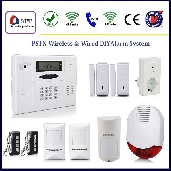 Cp 11a Wireless Self Monitoring Security Alarm System Sirenes Alarme Intrusion