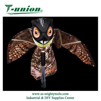 Delicieux Garden Plastic Bird Scare Fly Owl Bird Repellent Owl