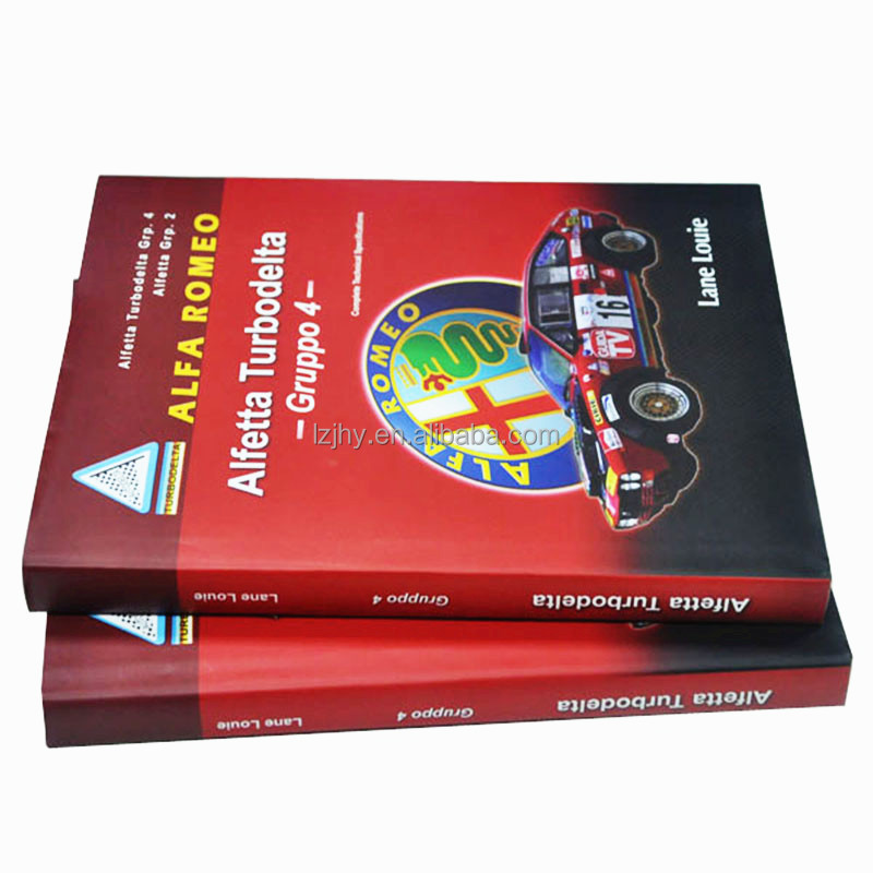 Hardcover UV spot thick paper book printing house
