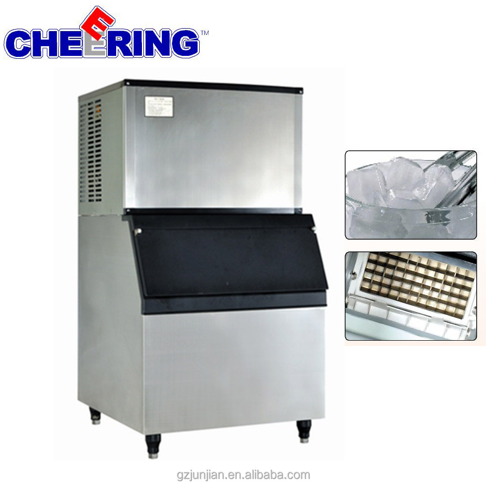 commercial block ice maker ice cube making machine for supermarket hotel