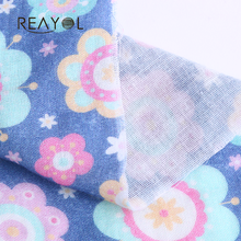 CGS wholesale digital printed baby cotton colored muslin fabric