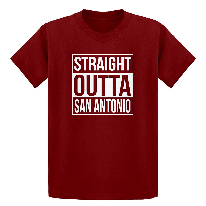 Indica Plateau Youth Straight Outta San Antonio Kids T-Shirt
