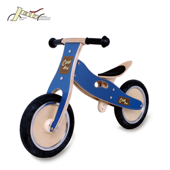 Humper 12'' Kids Wood Balance Bike For Children Balance Learning
