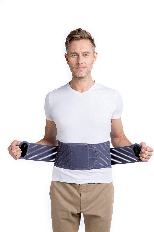 02ccaed94ae Get Quotations · Leamai New Design Medical Elastic Waist Belt Workout Full  body Waist Bandage Losing Weight Trainer Sweat