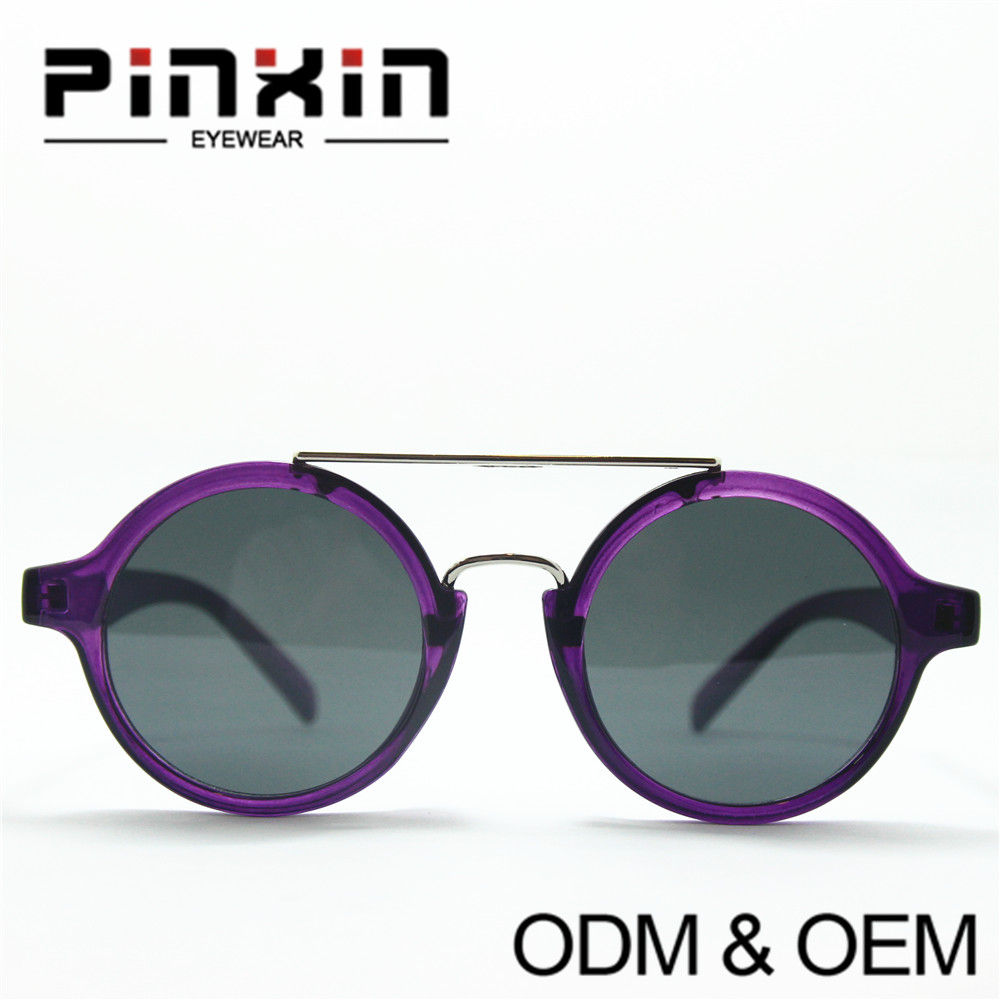 Pinxin(China)Updated CE Round Lense Colorful Polka Dot HD Vsion Fashion Eyewear