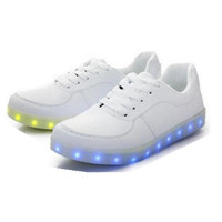 2017 Kids Shoes With Blinking Light Flash Funny Kids Led Shoes