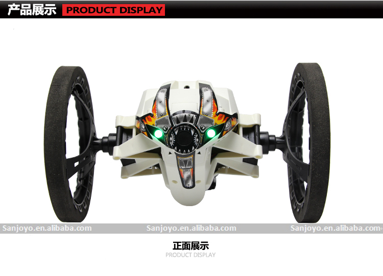 Mini Drone Jumping Sumo Connected Toy 2.4g 4ch Bounce Car Rc Car ...