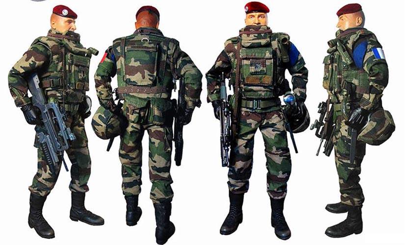 Pas cher 3d soldat figures jouet en plastique avec arme - Arme pas cher ...