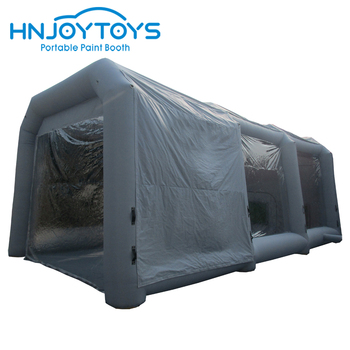 New design advertising popular cheap mobile durable inflatable paint booth for car
