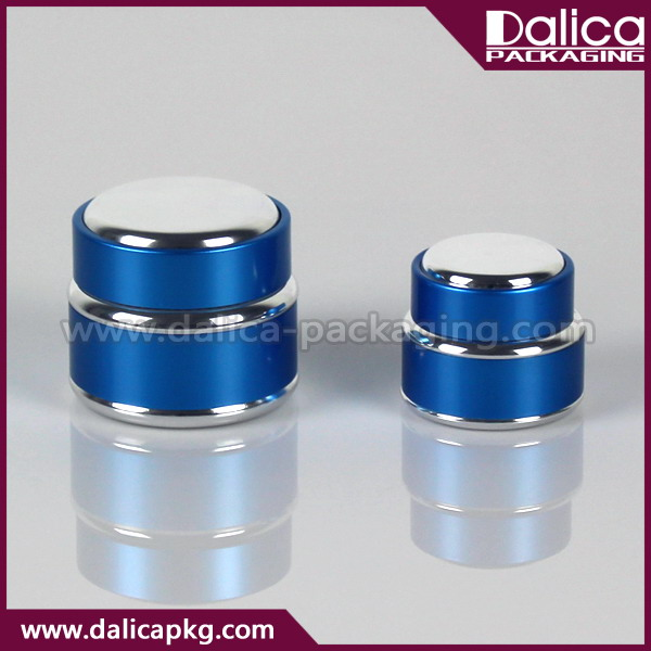 Mini innovative uv gel aluminium jar