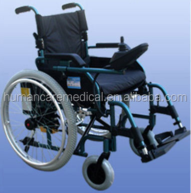 Hot sale lightweight e power wheelchair
