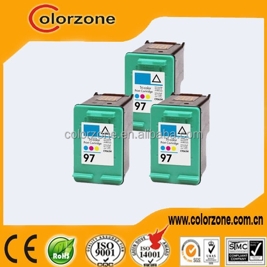 Compatible inkjet cartridge c9363w(97) voor hp
