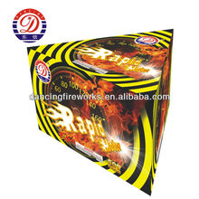 28 Shots Fireworks Triangle Shape Consumer Hot Cakes