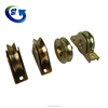 Support gate sliding with bearings steel gate wheel u v y groove