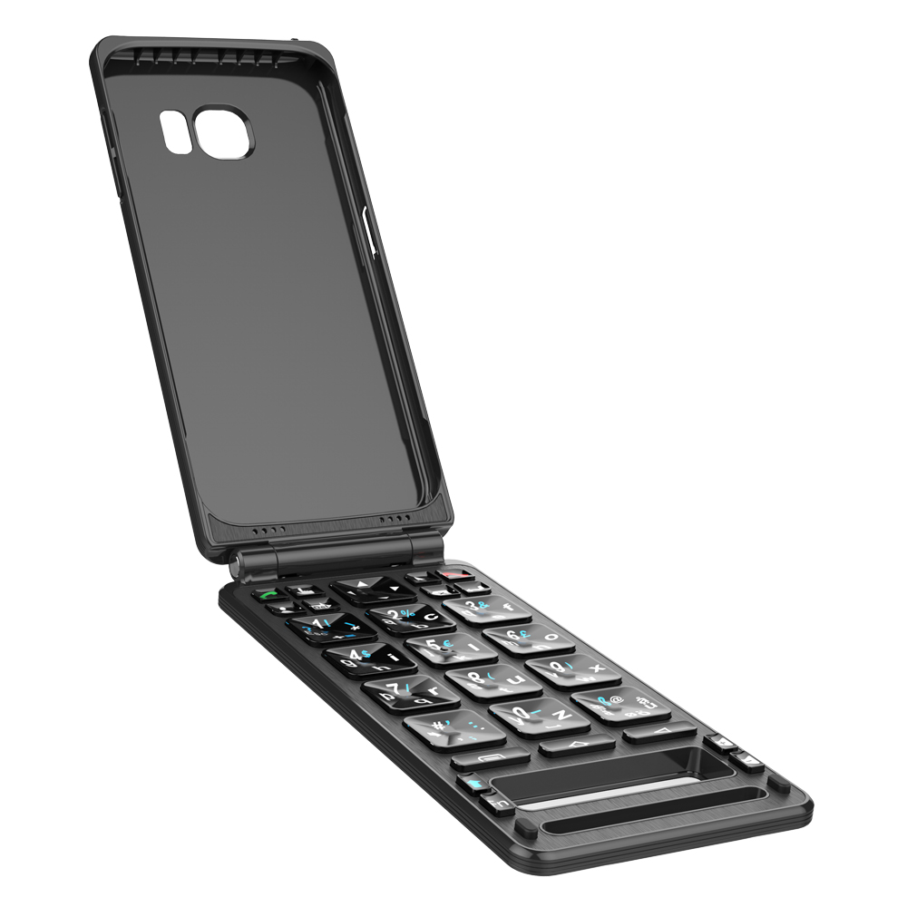 New design ROHS CE FCC bluetooth keyboard case for smart phone