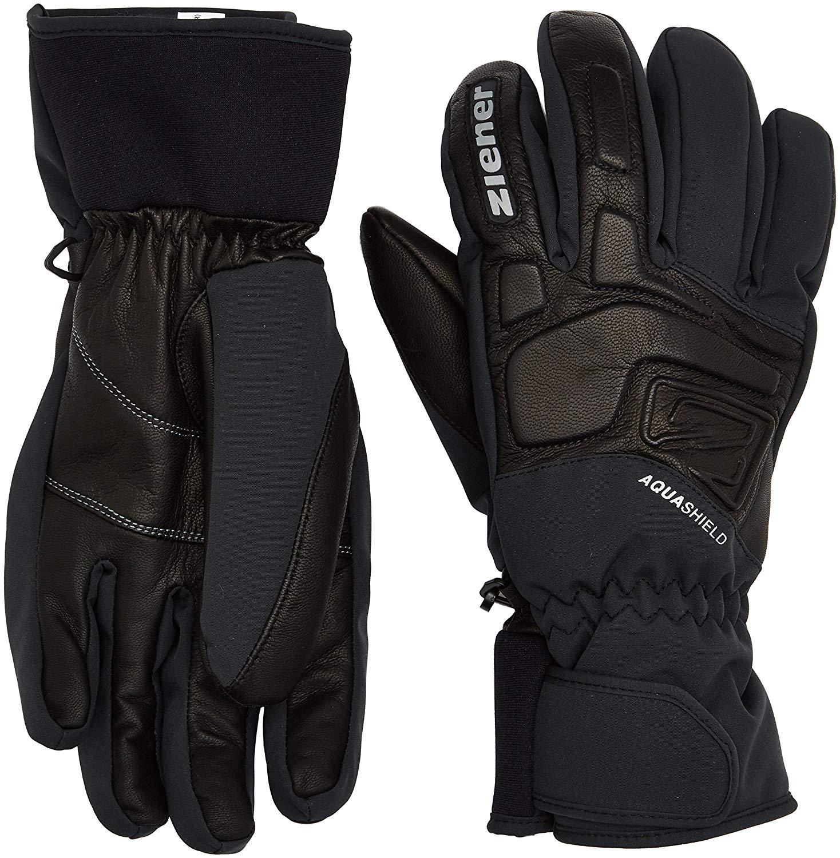 Gloves Ziener Waterproof Gofrieder AS Mens Outdoor Ski Gloves