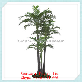 lf091645-artificial greenery areca palm trees/indoor&outdoor