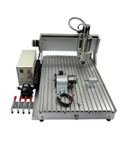 3D wood Milling Carving Router Cutting Tools Mini Lathe Machining CNC Milling Machine 6090