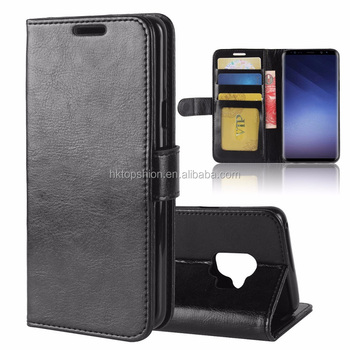 premium selection d361b b6727 Wholesale Price For Samsung Galaxy S9 Wallet Case Crazy Horse Skin Flip  Leather Case With Credit Card Slots - Buy For Samsung Galaxy S9 Wallet ...