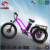 New design cheap electric fat tricycle with fast speed