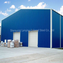2018 high quality steel structure warehouse and prefab workshop building