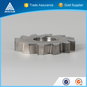 spline carbide gear milling cutter for wood