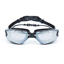 New products colorful professional triathlon adult swimming goggles with anti fog