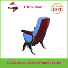 Theater Furniture Type and Fabric,wood Material Cinema Chairs T-C30