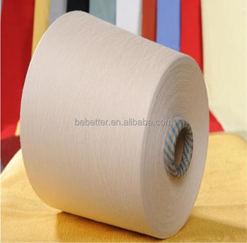 Ne 30/1 high quality 100% Cotton Combed Yarn raw white and colored