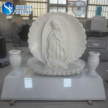 Quality Assurance the Blessed Virgin Mary Etching Tombstone