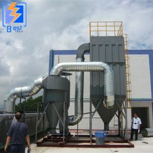 impulse bag filter type cement industry bag filters dust collector
