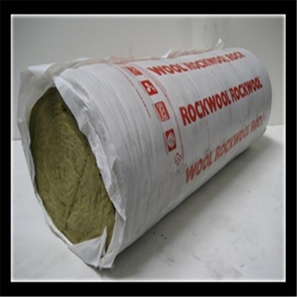 Fireproof aluminum foil faced rock wool blanket insulation for Mineral wool blanket insulation