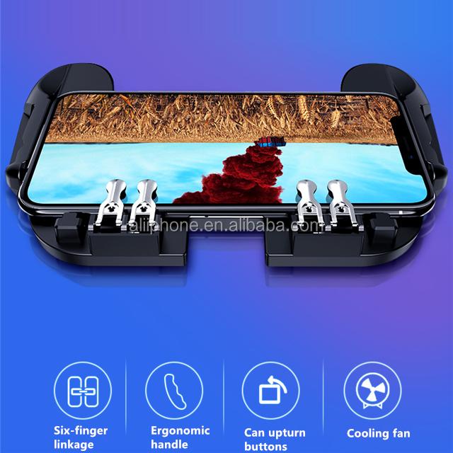 2019 Hot Sale Ponsel PC Joystick Gamepad H9 Permainan Handle dengan Kipas Angin untuk Pubg