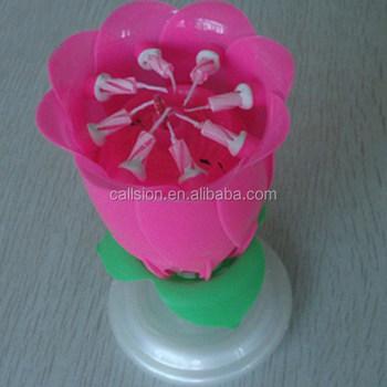 Fleur Rose Joyeux Anniversaire Bougie Buy Feux Dartifice Grossiste Bougie Danniversaireaccessoires De Candel Danniversairebougie Danniversaire
