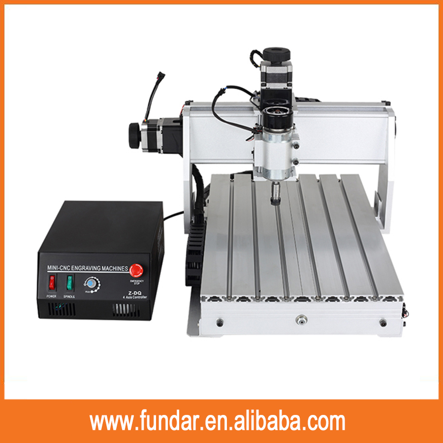 Newest cnc simulation software supported 3040Z-DQ 3 Axis mini engraving machine