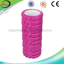 Shink wrapping epe massage eva grid foam roller pilates for abdominal muscle trainer