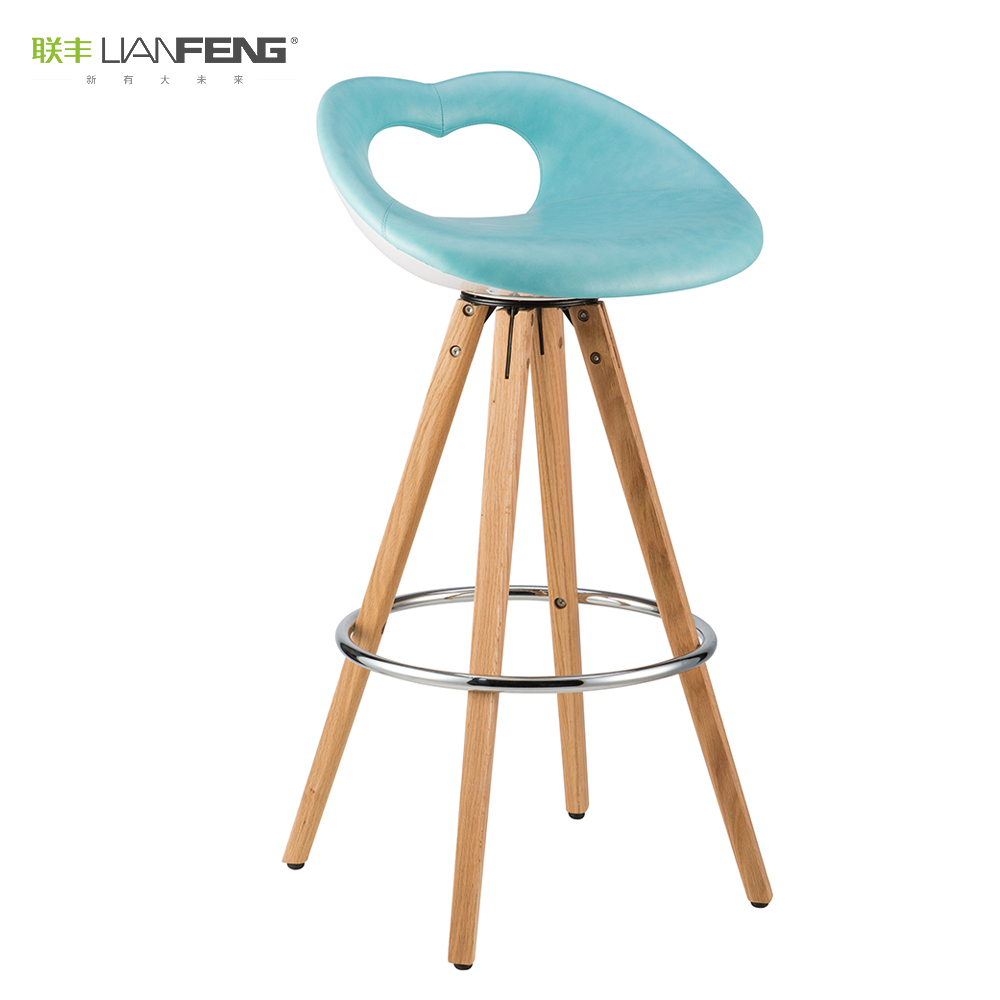 Outstanding American Style Monroes Lips Design Swivel Bar Stool Wood Wooden Legs Chair For Cafe Bar Club Use Buy High Chair Vintage Cross Back Rotating Leather Gamerscity Chair Design For Home Gamerscityorg