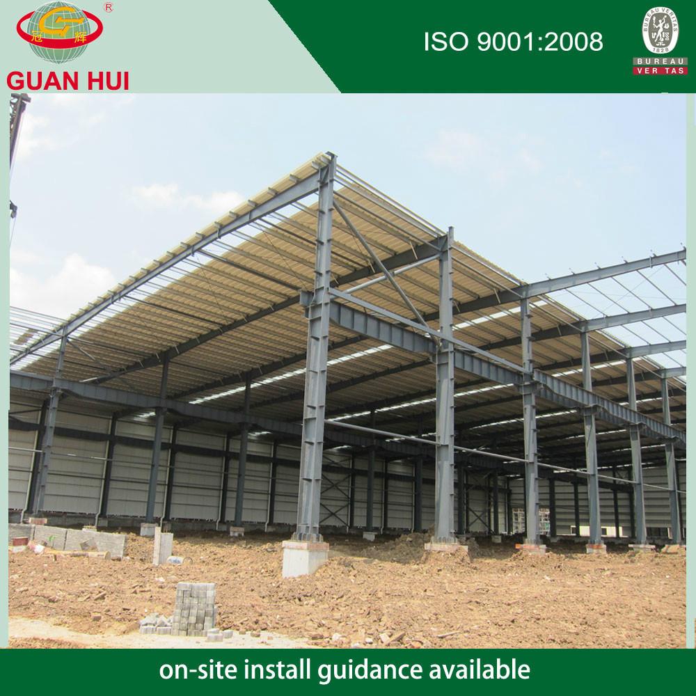 Pre-cast mayor estructura de acero para la construcción de almacenes ...