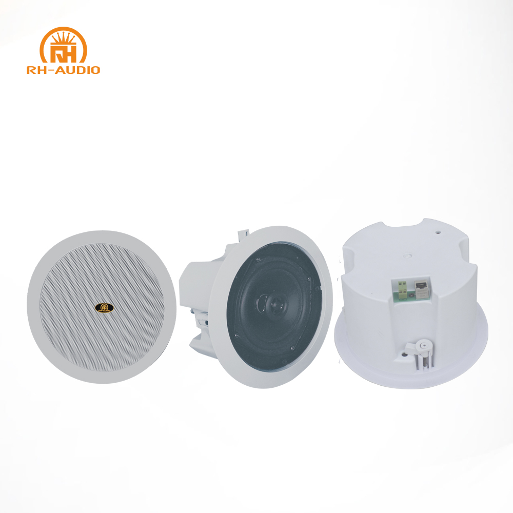 Rh-audio Poe Ip Power Ceiling Speaker With 8w Power Over Ethernet ...