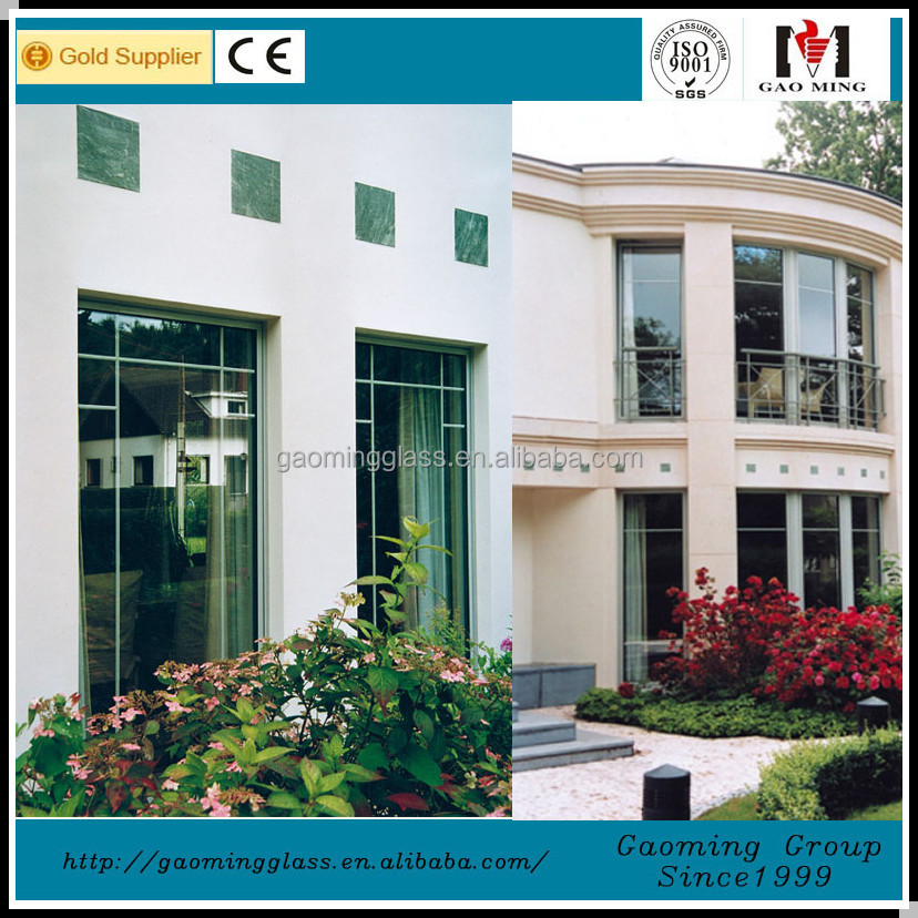 Aluminum frame and tempered glass house window vents supplier