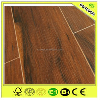 German V-groove multi colored wooden flooring for home