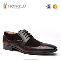 2016 New Style Fashion Men Leather Shoes, High Quality Men Dress Shoes, Derby Shoes For Men