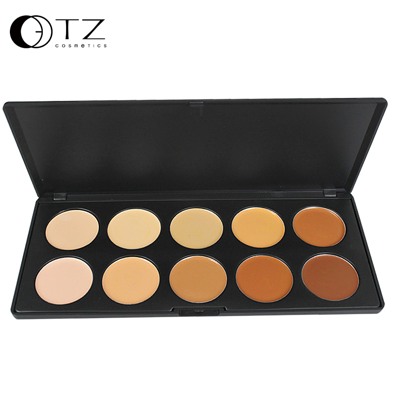 Concealer Palette Contouring Professional Make up 10 Colors Face Powder for Makeup AC10
