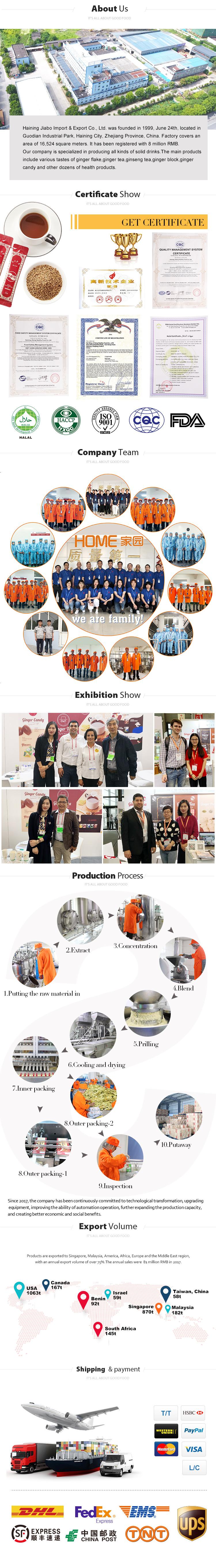 hot sale Chinese factory ginger drink instant honey ginger tea powder bag honey flavour tea powder - 4uTea | 4uTea.com