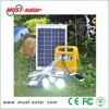 <Must Solar>DC Solar system, Good performance 12V DC 10W Smart Power solar home lighting system/kit