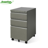 Kd structure A4 File Metal Filing Storage Mobile Moving steel Pedestal Cabinet